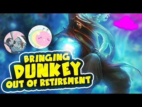 bringing dunkey out of retirement