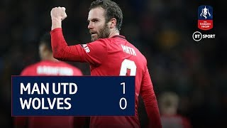 Manchester United vs Wolves (1-0) | Emirates FA Cup Highlights