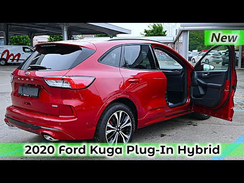 New Ford KUGA Plug-In Hybrid ST Line X 2020 Review Interior Exterior