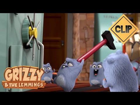 Les Lemmings font un braquage ! - Grizzy et les Lemmings