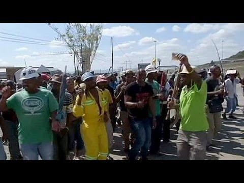 Afrique du Sud : Jacob Zuma appelle les mineurs à cesser la grève