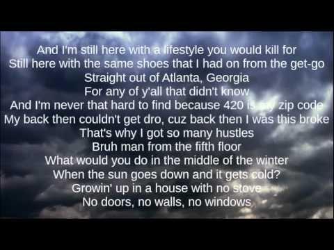 B.o.B - Arena ft. Chris Brown & T.I (Lyrics) [HQ]