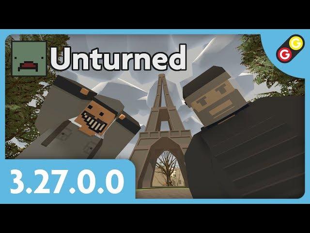 Unturned - Update 3.27.0.0 [FR]