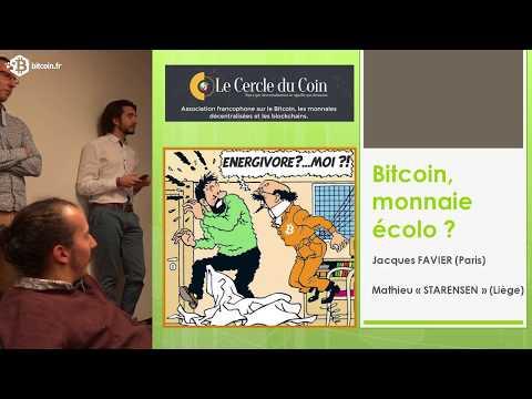 Bitcoin, monnaie écolo? - Jacques Favier