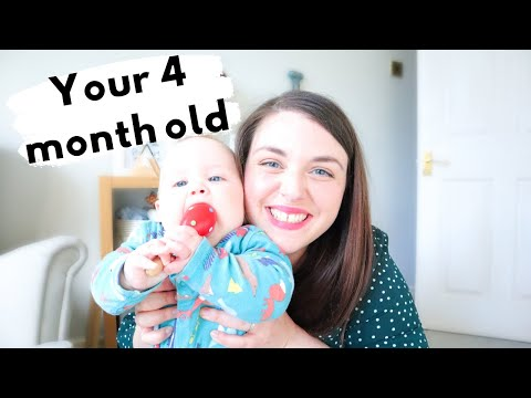 HOW TO PLAY WITH YOUR 4 MONTH OLD! 4 month old activity ideas, play and development.