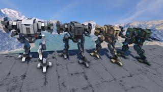 Centurion Battlemechs - Space Engineers