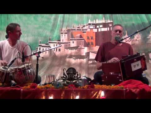 Krishna Das Concert in India Dharamshala Himachal Pradesh April 2013 (FULL)