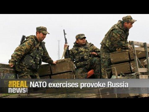 NATO exercises provoke Russia