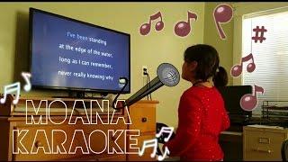 Girls Singing Moana Karaoke ♫