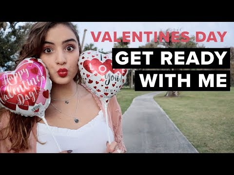 VALENTINE'S DAY GET READY WITH ME | Sofia Conte