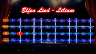 エルフェン・リート LILIUM ~やってみた~ Elfen Lied   Lilium Violin Tutorial