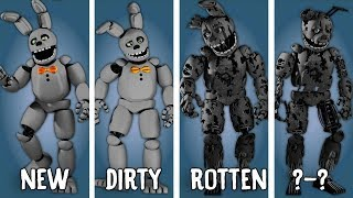 [SFM FNAF] White Rabbit: Characters Appearance Timeline (Series Backstage Animation)