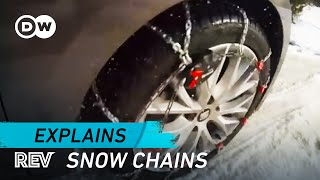 Driving safely with snow chains | Drive it!
