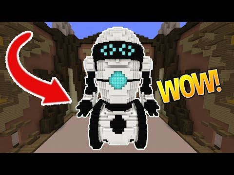 BEEP BOOP ~(o_o)~ (Minecraft Build Battle)
