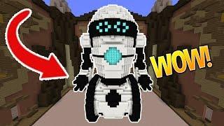 BEEP BOOP ~(o_o)~ (Minecraft Build Battle)