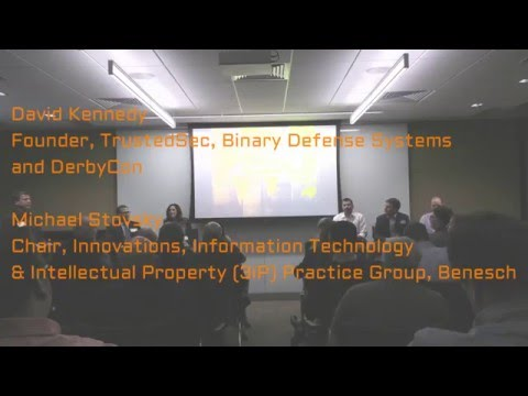 Information Security Legal Panel - April 28, 2016