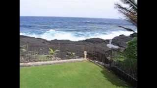 Hale Mar Hawaii: rolling ocean waves from the back yard 2