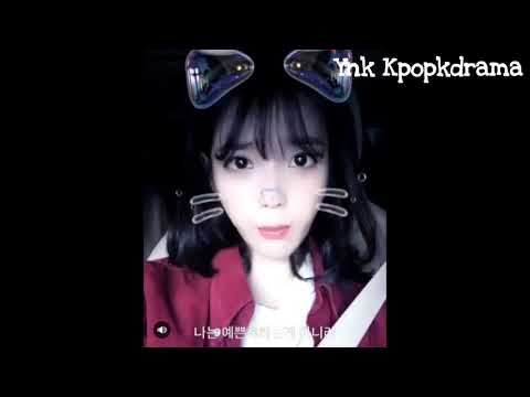 [241017] Imitate Choi Ae Ra Aegyo IU Look So Cute With Emoticon. IU Up Date IG [Fight For My Way]