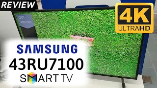 REVIEW SAMSUNG 4K 43RU7100 indonesia HD