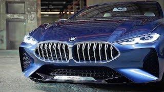 Возрождение Роскошного КУПЕ БМВ 8 серий, BMW Concept 8 Series 2018