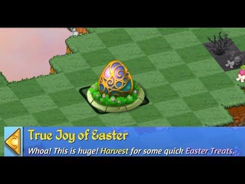 Harvesting True Joy of Easter Merge Dragon iOS Gameplay