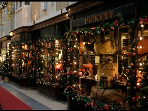 Wander along the World Famous Burlington Arcade Mayfair London ENGLAND