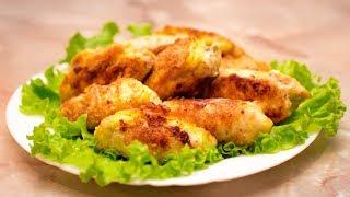 Вкуснейшие куриные рулетики с сыром.  Очень вкусный рецепт