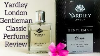 Yardley London Gentleman Classic Perfume Review | Perfumelover dipak
