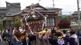 平成25年 平塚市・北金目神社例大祭 中久保神輿=渡御着輿