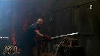 Fort Boyard 2013 - Philippe Etchebest dans Excalibur