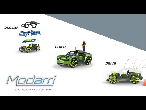 Modarri - Design, Build, Drive, Register, Collect - The Ultimate Toy Car