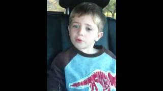 Download Carter 4 year old singing Train 'Hey Soul Sister' MP3 song and Music Video
