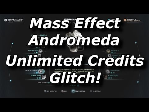 Mass Effect Andromeda Unlimited Credits Glitch! How To Get Infinite Money Fast & Easy!