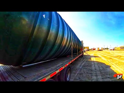 My Trucking Life - DELIVERING A TANK - #1515