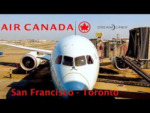 [4K] Flight Report   Air Canada   787-9   Dreamliner   Economy   San Francisco - Toronto   AC738
