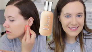 DIOR BACKSTAGE Face & Body Foundation Oily Skin Wear Test & Review | makingupashlee