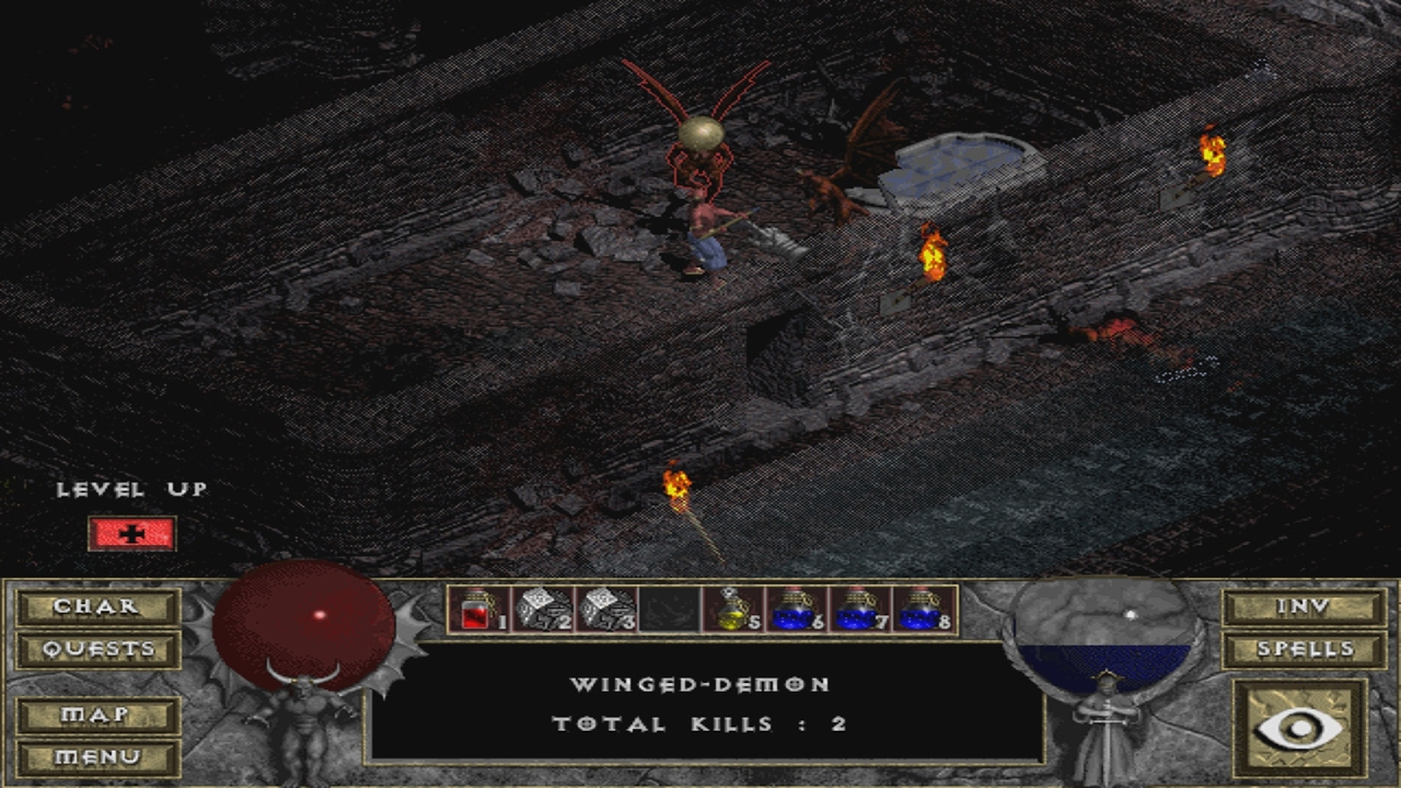 diablo 2 how to get hellfire torch
