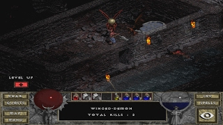 Diablo : Hellfire Walkthrough - Catacombs Levels 5 & 6