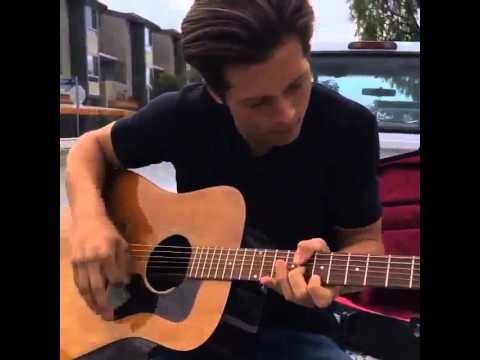 Leo Howard Playing Guitar