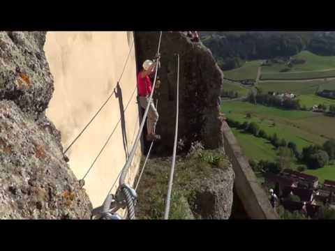 Klettersteig Riegersburg : Leopold klettersteig riegersburg september youtube
