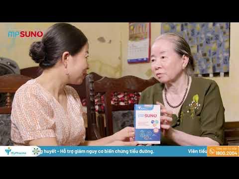 MPsuno - Sản phẩm chứa NANO DÂY THÌA CANH đầu tiên cho người TIỂU ĐƯỜNG