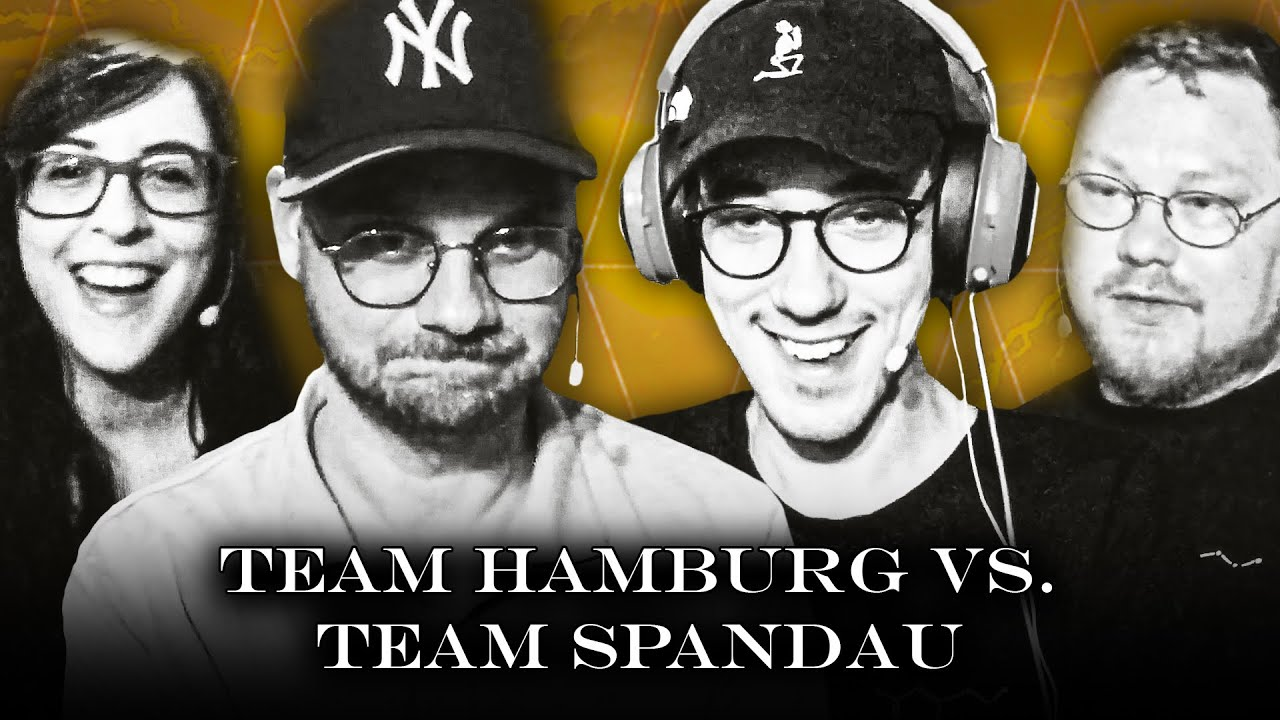 Eddy & Kiara vs.@HandOfBlood & @Kalle  | Das Gaming-Duell