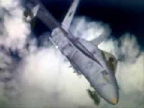 F-18 Hornet tribute