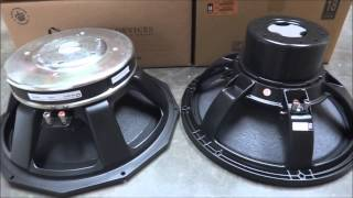 SCOOP Bass Bin 18 sound 18NLW9000 VS Precision Devices PD1852