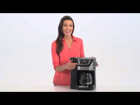 Black + Decker 12-Cup* Mill & Brew Coffeemaker Product Overview