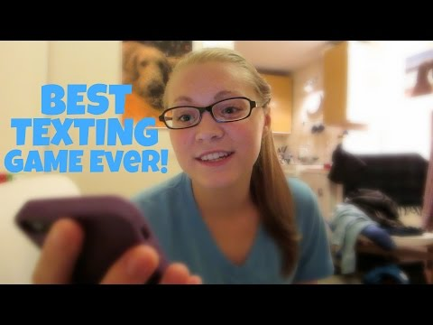 BEST TEXTING GAME EVER!!! (1.1.15)