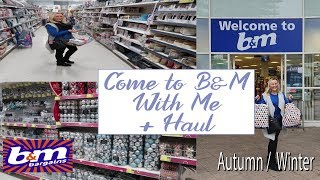 COME SHOPPING WITH ME + HAUL   WHAT'S NEW IN B&M!   OCTOBER
