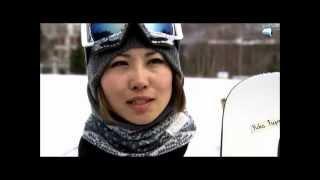 藤森由香、スノーボード全日本選手権優勝! 藤森由香 動画 30