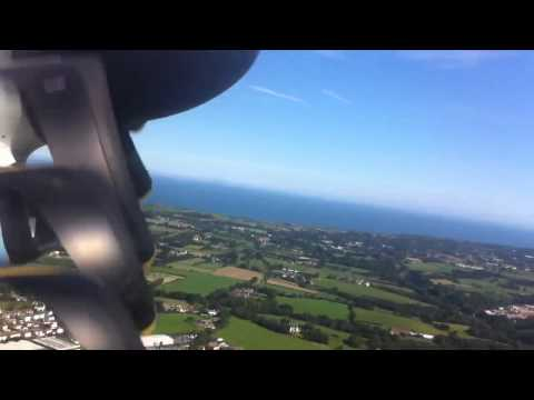 Take off from Jersey Airport