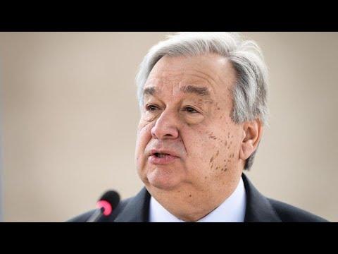 الأمين العام للأمم المتحدة يدعو لحماية النساء في العالم من العنف المنزلي خلال الحجر الصحي  - 16:59-2020 / 4 / 6